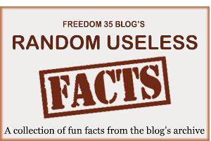 A gallery of images from the random useless fact section of each blog post
